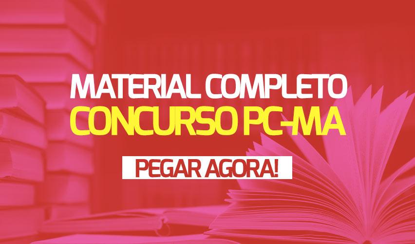 Apostila Concurso PC-MA