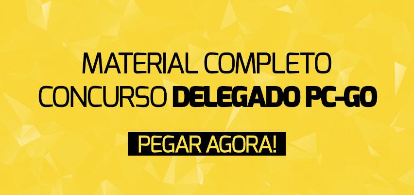 Curso Completo Delegado PC-GO