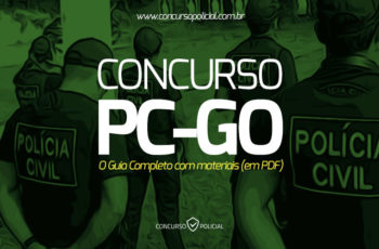 Concurso PC-GO: o Guia Completo com materiais (em PDF)!