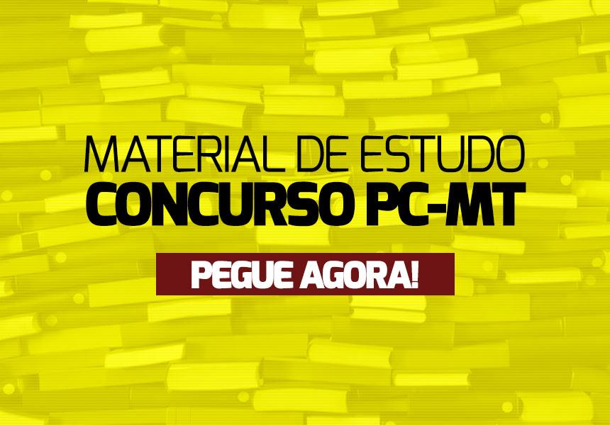 Apostila Concurso PC-MT