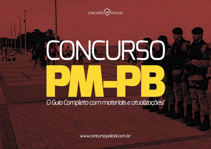 Concurso PM-PB