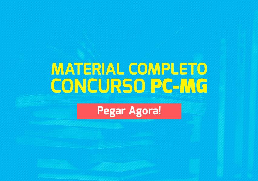 Apostila e Curso Concurso PC-MG