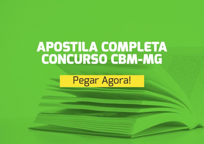 Apostila Concurso CBM-MG