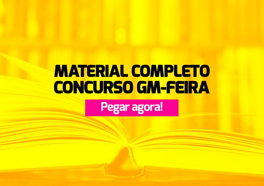 Apostila Concurso GM Feira de Santana