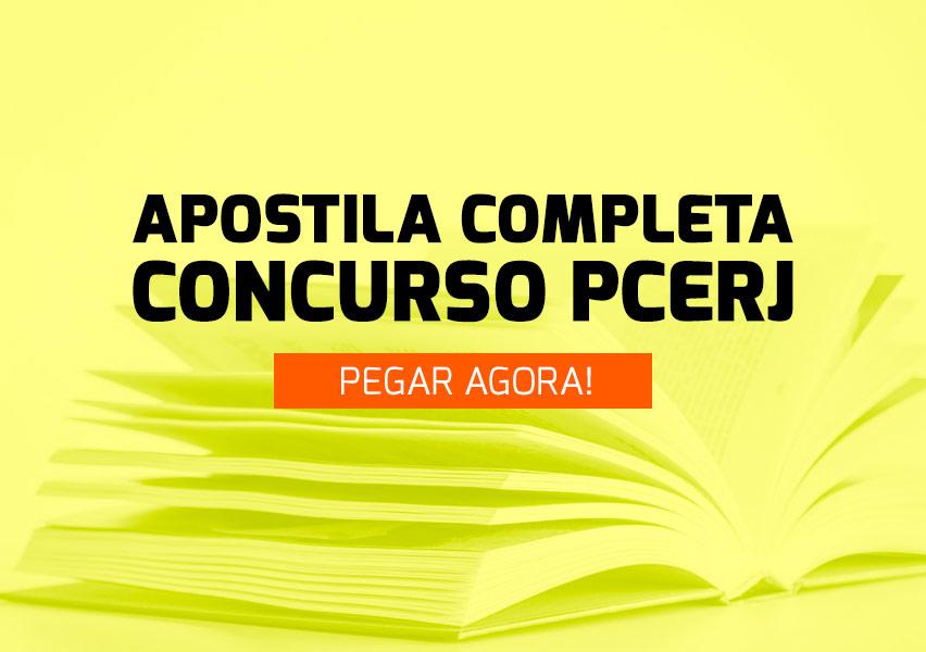 Apostila Concurso PC-RJ