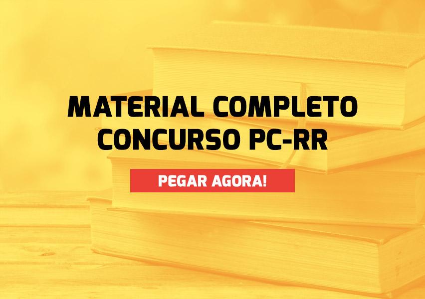 Apostila Concurso PC-RR