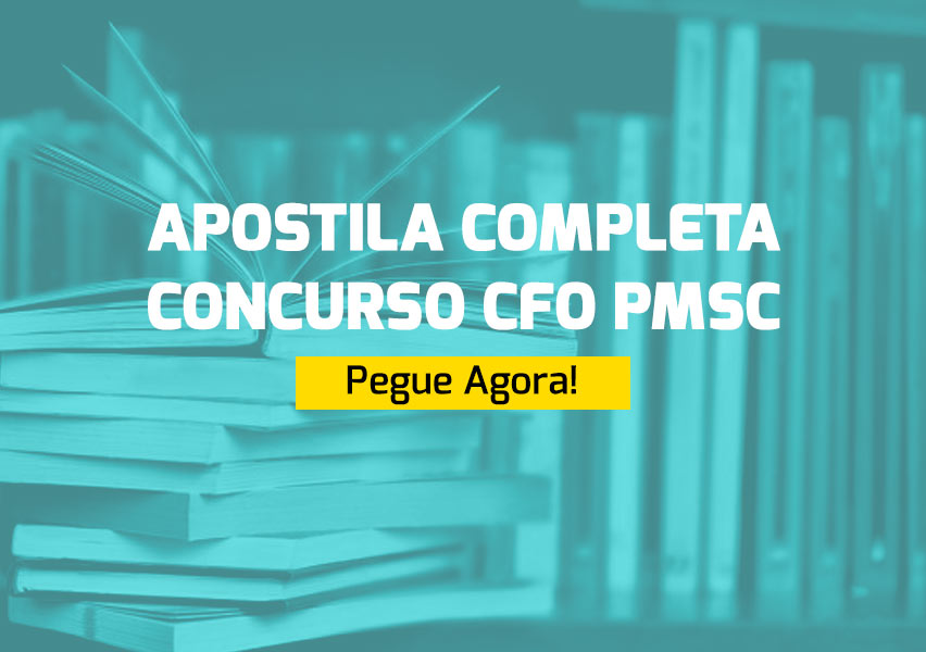 Apostila Concurso CFO PMSC