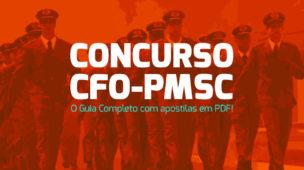 Concurso CFO PM-SC