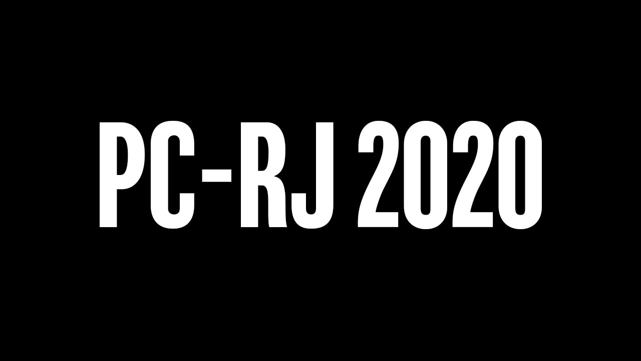 Concurso PC-RJ 2020