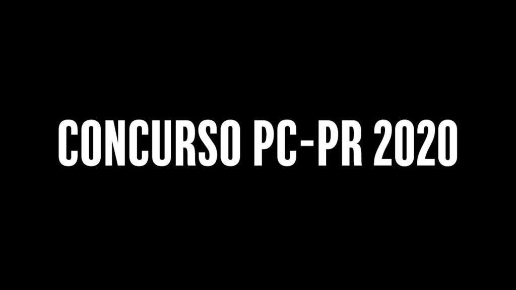 Concurso PC-PR 2020