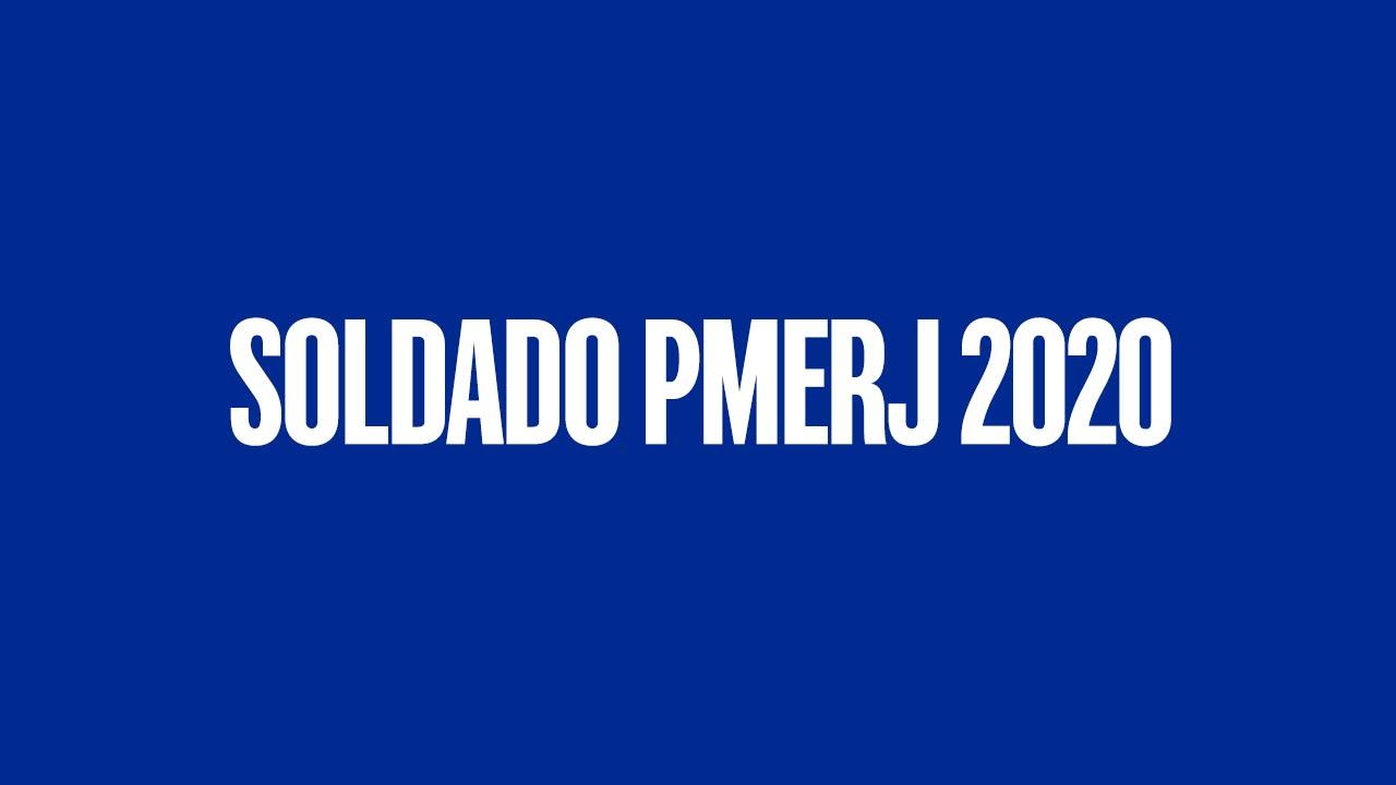 Concurso Soldado PMERJ 2020