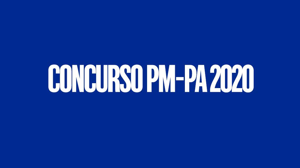 Concurso PM-PA 2020