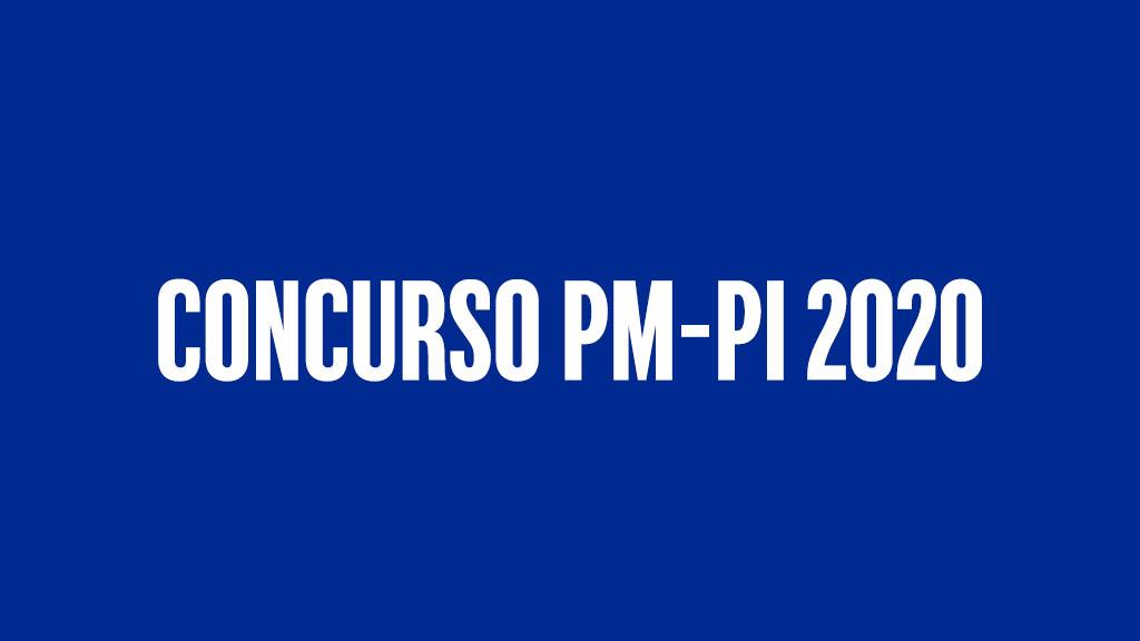Concurso PM-PI 2020