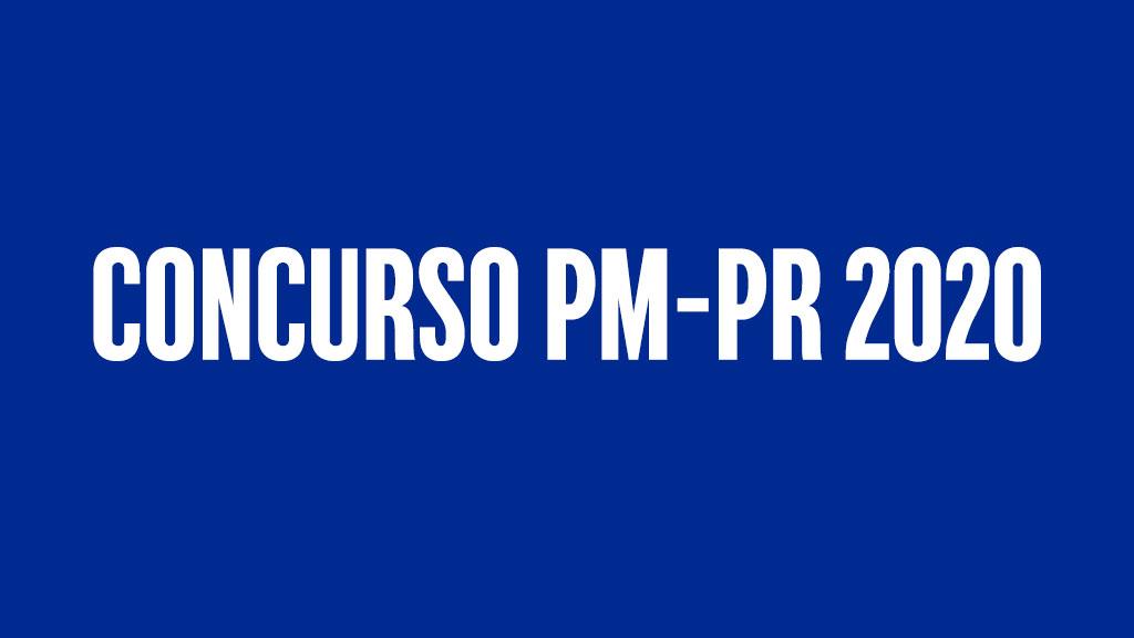 Concurso PM-PR 2020
