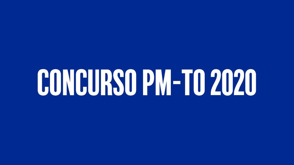 Concurso PM-TO 2020