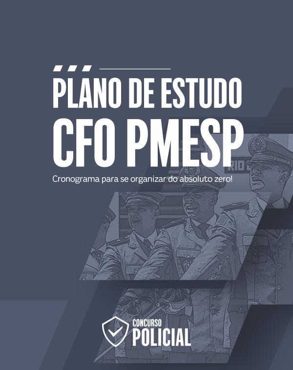 Plano de Estudo - CFO PMESP