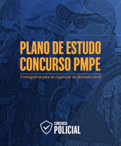 Plano de Estudo Soldado PM-PE