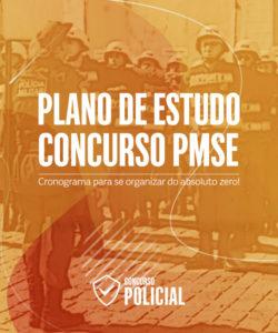 Plano de Estudo Soldado PM-SE