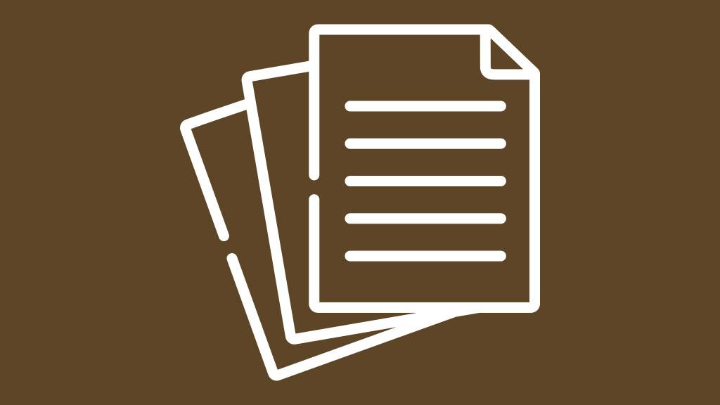 Documentos da investigação social - Inventário Pessoal