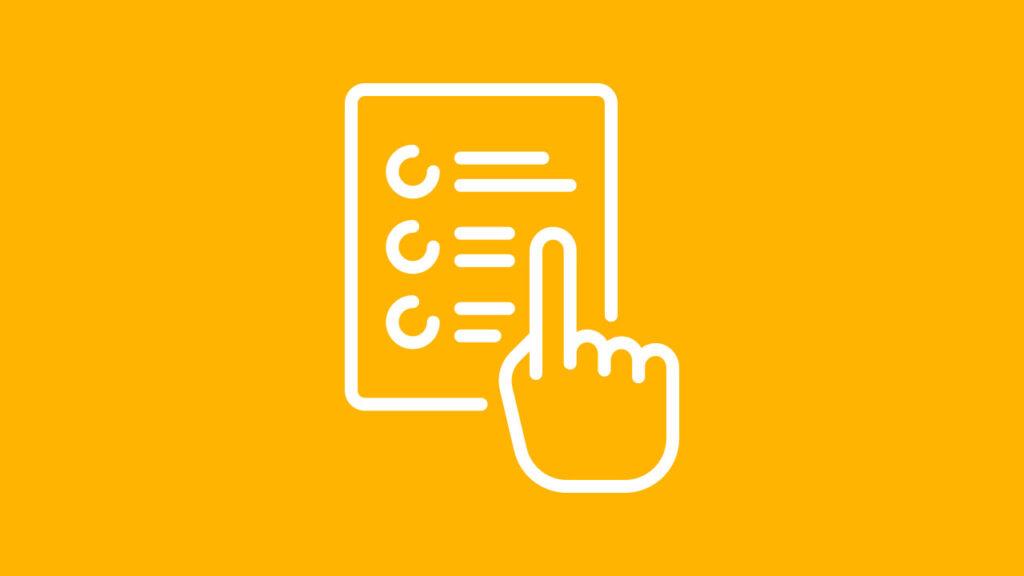 Organização e definição do conteúdo
