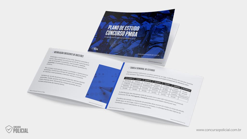 Plano de Estudo do Concurso PM-BA