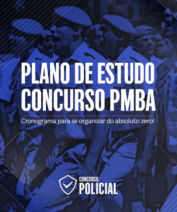 Plano de Estudo Soldado PM-BA