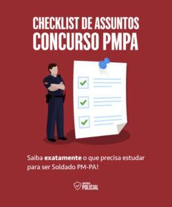 Checklist de Assuntos - Concurso PMPA