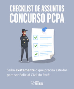 Checklist de Assuntos - Concurso PCPA