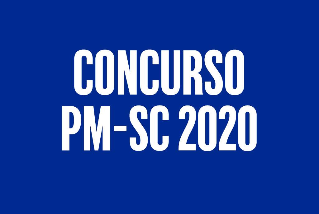 Concurso PMSC 2020