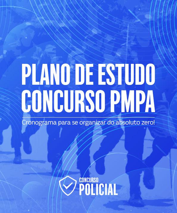 Plano de Estudo - Concurso Soldado PM-PA