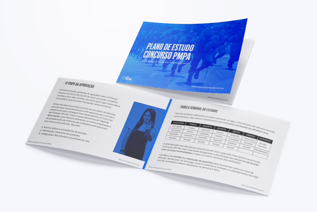 Plano de Estudo - Soldado PM-PA