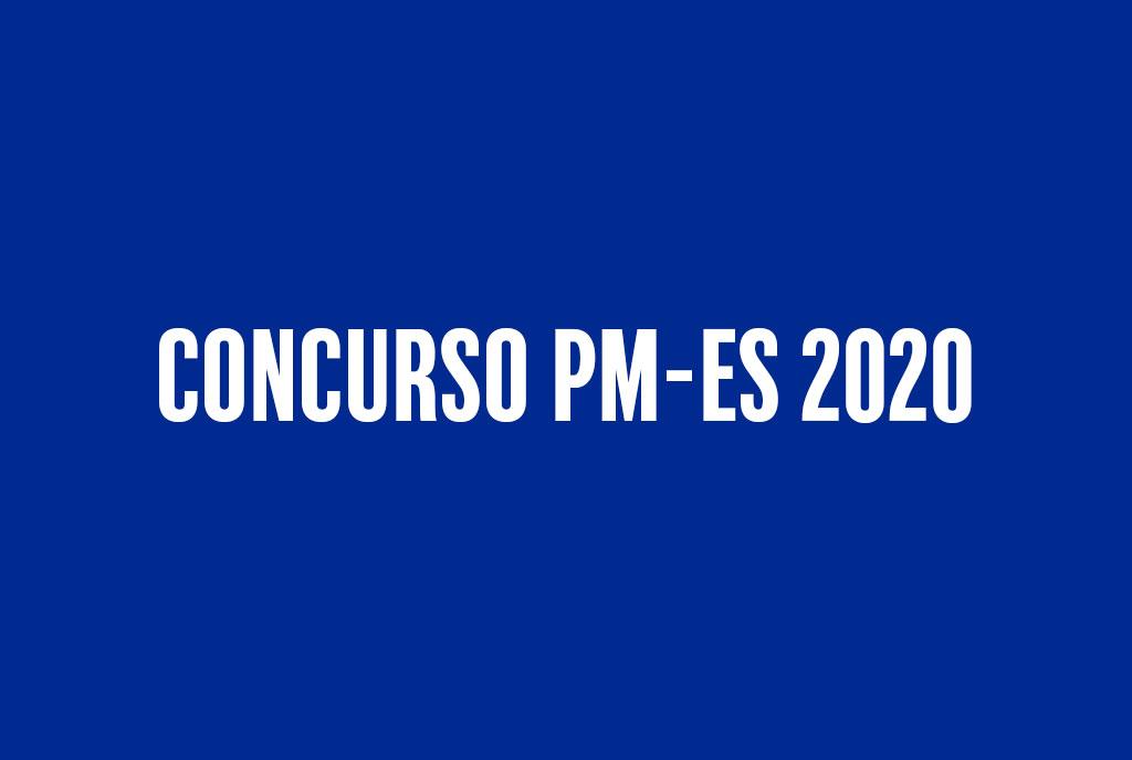 Concurso PM-ES 2020