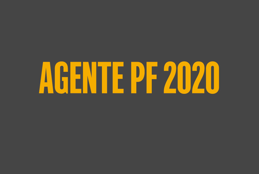 Concurso Agente PF 2020
