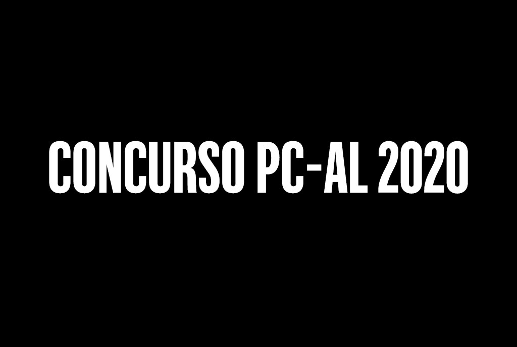Concurso PC-AL 2020