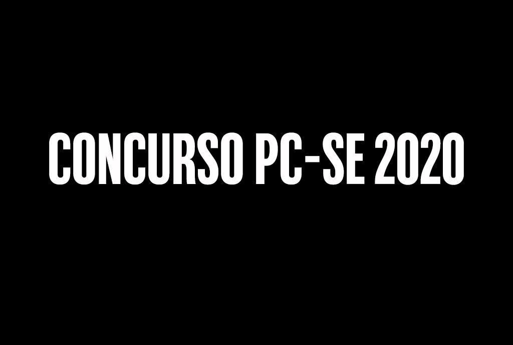Concurso PC-SE 2020